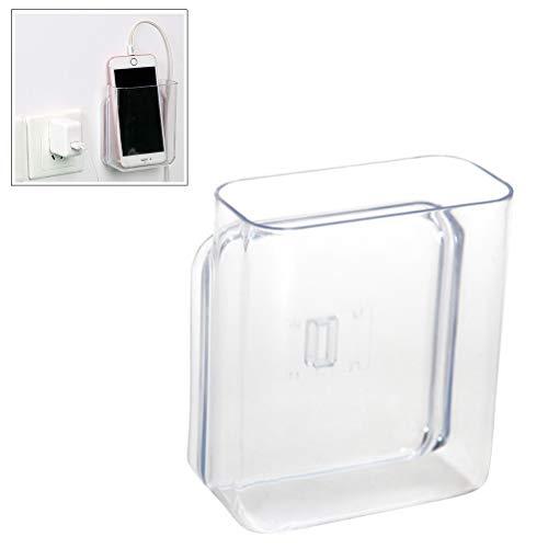 Remote Storage (Wall Mount Punch-Free Storage Organizer Box for Phone Remote Control,White)