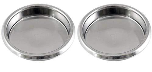 Gas N Pow3r x2 Puly Caff Blindfilter Blende Scheibe Edelstahl 58 mm für rückspülende kommerzielle...