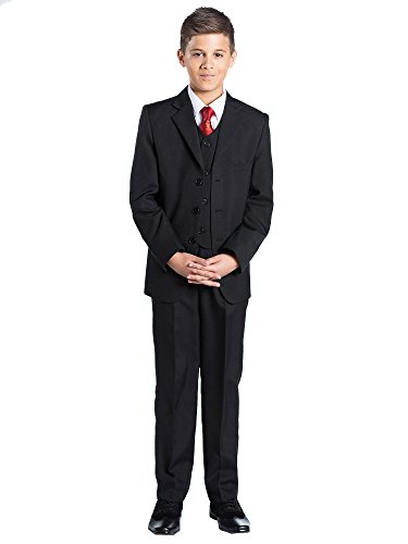Shiny Penny, Boys Black Communion Suit, Boys First Holy Communion Suit, 5 - 14 years