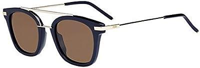 Fendi Ff 0224/S 70, Gafas de Sol para Mujer, Blue, 48
