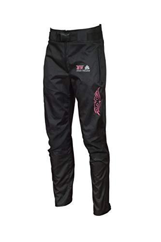PRO FIRST MB Motorradhose für Damen, 100% wasserdicht, winddicht, abnehmbar, mit CE-Schutz