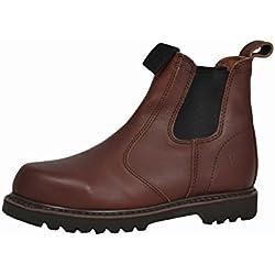 Hoggs of Fife - Zapatos de caza para hombre, color marrón, talla 7 UK