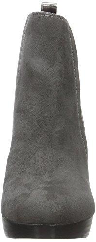 La Strada 909536, Bottes Classiques femme Gris - Grau (2203 - micro grey)