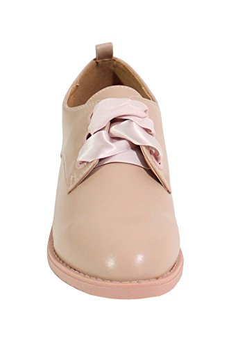 By Shoes , Scarpe Stringate Basse Rosa