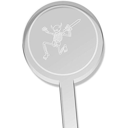 Rührer Klinge (Azeeda 10 x 'Skelett mit Einer Klinge' Kurz Trinken Sie Rührer (DS00000056))