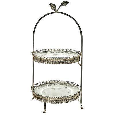 Generic al Afternoo Tea Party Stil Metall Afternoon ing Sandwi Hochzeit Sandwich Cake Stand Vintage Style Grau Nd Holder Cake Stand Stand