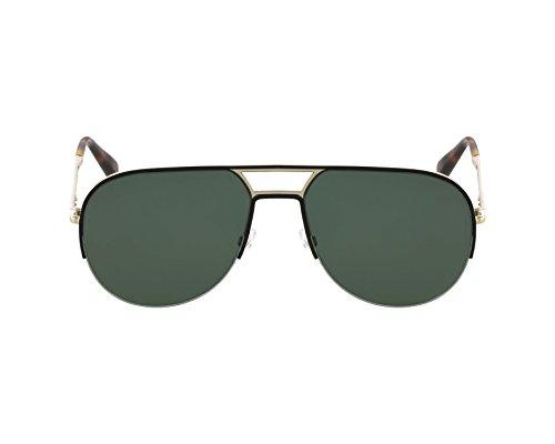 Marc Jacobs Für Mann 624 Black / Gold / Grey / Green Metallgestell Sonnenbrillen