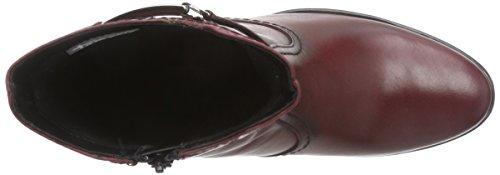 Tamaris - 25009, Stivali Donna Rosso (Rot (Bordeaux 549))