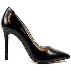 SHLEP , Damen Pumps, schwarz - Schwarz - Größe: EU 41