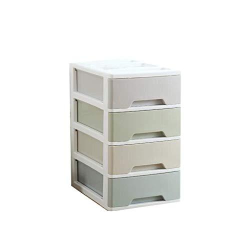Cxjff Schreibtisch A4 Papier Kunststoff Multi-Layer Small Drawer File Storage Box Aufbewahrungskorb wasserdichte Aufbewahrungstasche (Kunststoff Boxen File-storage)