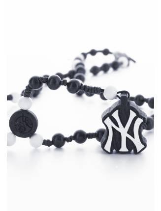 ette MLB NY Yankees Team Rosary blau blau Einheitsgröße ()
