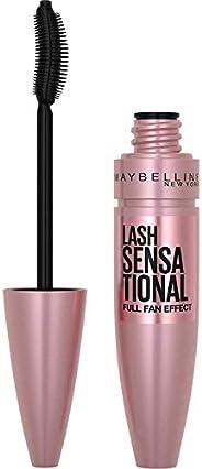 Maybelline New York 478994 Lash Sensational Mascara med full ögonfrans, 9,5 ml, svart
