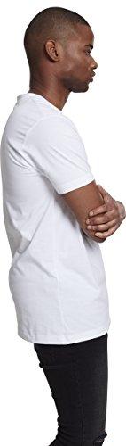 Mister Tee (MISUQ) Herren Love Vibes Only Tee T-Shirt white