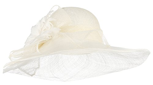 GEMVIE Damen Fascinator Vintage Mini Hut Braut