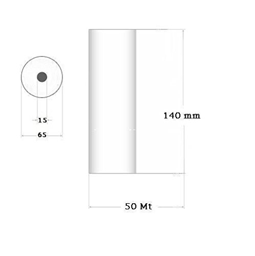 Carta termica per Ecografo Elettrocardiografo 140 mm x 50 Metri KPHR 1809 4 Pz