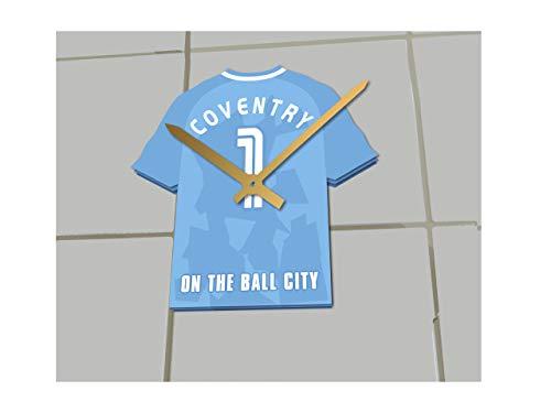 MyShirt123 Coventry City FC Football Club-Fußball Shirt Uhr-Name & jeder Zahl-Sie wählen.