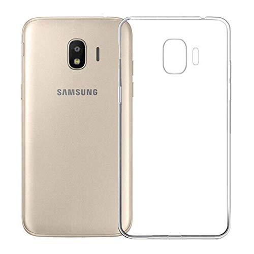TBOC® Transparent Gel TPU Hülle für Samsung Galaxy J2 (2018) - J2 Pro J250F (5.0 Zoll) Ultradünn Flexibel Silikonhülle
