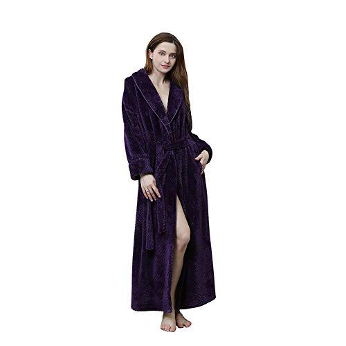 Maritown Unisex Bademäntel Super weiche warme Damenmäntel für Herren Perfekt für den Fitnessraum Shower Spa Hotel Holiday (Jungen Nachtwäsche Holiday)