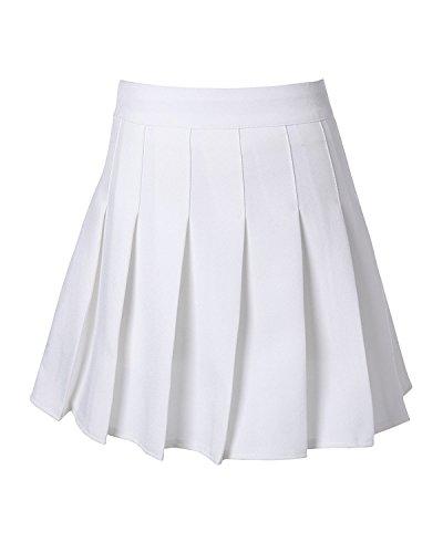 School Pleat Uniform Pleated Skirt Slim Pleated Skater Tennis Skirts