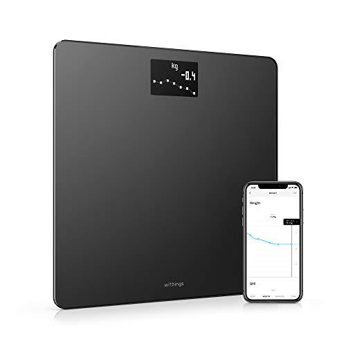 De Withings Body Smart personenweegschaal maakt gebruik van gepatenteerde Position Control technologie om de beste manier te bieden om je gewicht te beheren. Withings Body biedt onmiddellijke feedback op het scherm en synchroniseert automatisch met j...