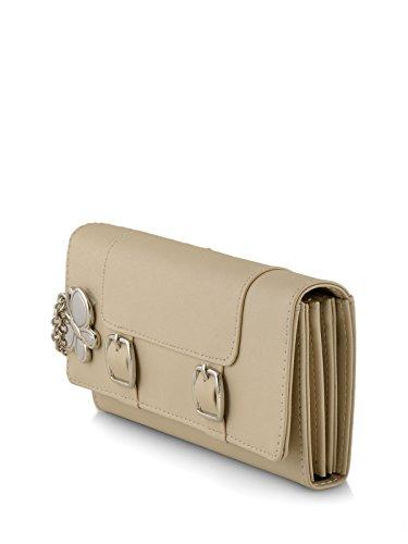 Butterflies Women's Wallet (Cream) (BNS 2388CRM)
