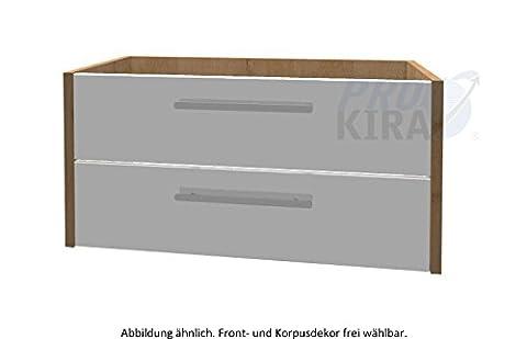 Pelipal Lardo Waschtisch-Unterschrank (LD-WTUSL 04) Badmöbel / Comfort N / 100 cm