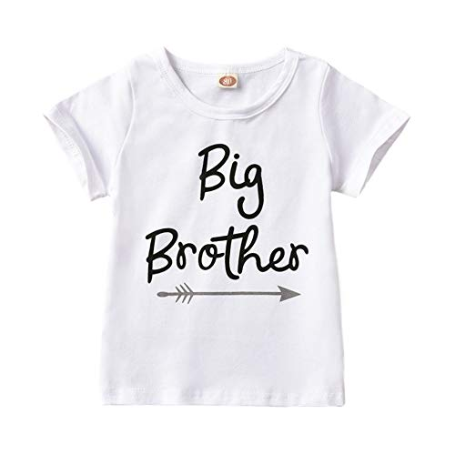 Little Sister Big Brother passende Strampler T-Shirt Kind Baby Boy Girl Bodysuit Outfit Kleidung