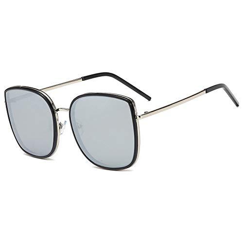 JWR Polarisierte Frauen Sonnenbrille, UV-Schutz, stilvolle Metallrahmen,Gold