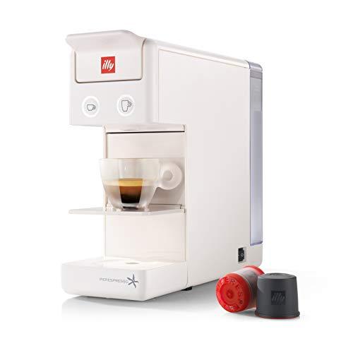 Illy caffe 60285y3 iperespresso macchina da caffe, bianco