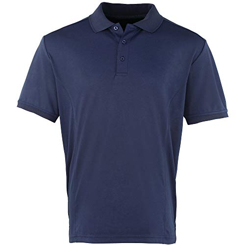 Premier Mens Coolchecker Pique Wicking Quick Dry Workwear Polo Shirt -