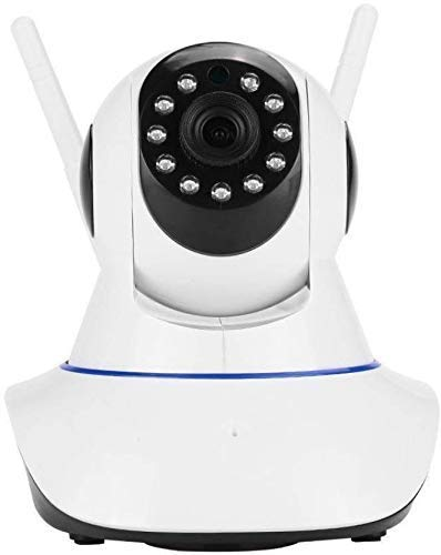 FINICKY-WORLD V380 HD CCTV Wireless IP Security Camera Dual Antenna Live View (Support Micro SD Card + LAN RJ45)