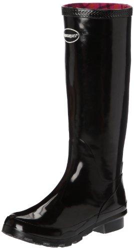 Havaianas Helios Rain Boots, Bottes de pluie Femme Noir