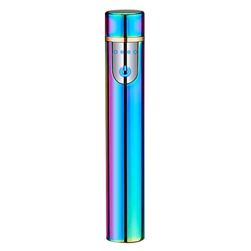 Flamme-sensor (Exing Mini USB Zigarettenanzünder Zigarettenanzünder Elektronisch Touchscreen Lade-Sensor Winddicht wiederaufladbar ohne Flamme one size 3#)