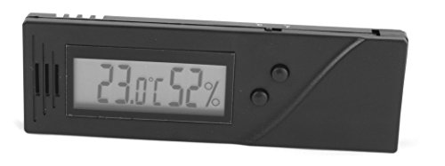 MASSIMO Calibre Higrómetro Digital para Humidor de Cigar