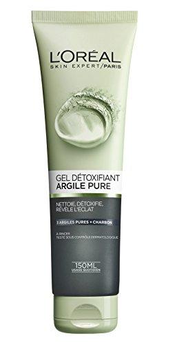 L'Oréal Paris Gel Détoxifiant Visage Argile Pure 150 ml