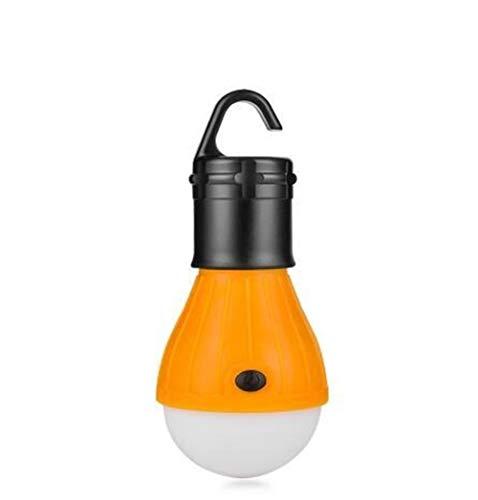 Lijincheng Laterne LED-Birnen-Licht-3 Modus-Haken-Zelt-Lampe Außen Soft-Notfall-Zelt-Licht-Energieeinsparung for Camping Jagd Beleuchtung (Wattage : Yellow) -