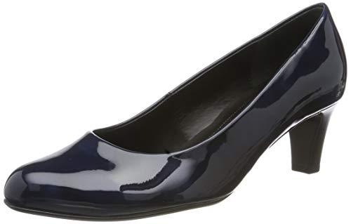 Gabor Shoes Damen Basic Pumps, Blau (Marine 76), 36 EU -