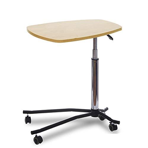 NYDZ Beweglicher anhebbarer Computer-Schreibtisch, Schreibtisch-Nachttisch-faules Bett mit Notizbuch-Sofa-Beistelltisch-Studien-Schreibtisch (Color : A) -