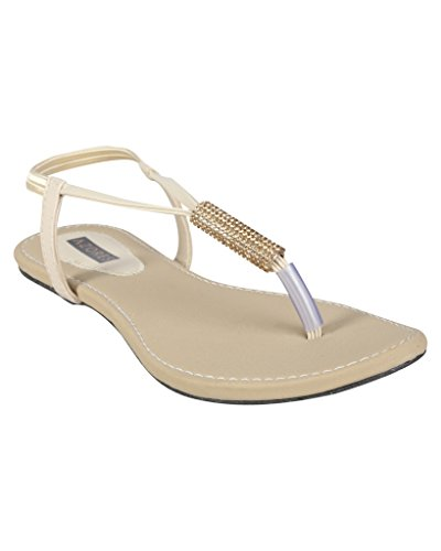 Azores-Womens-Creame-Coloured-Flats