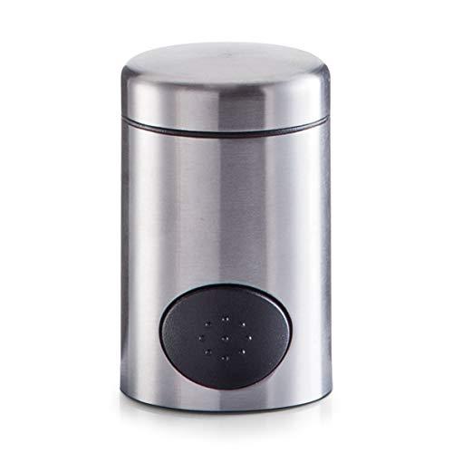 Zeller 27311 Süßstoff-Spender, Edelstahl, ø 4.7 x 7.5 cm