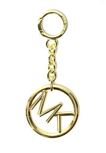 Michael Kors MK - Llavero de oro con logo