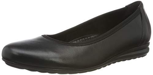 Gabor Shoes Damen Comfort Sport Geschlossene Ballerinas, (Schwarz 57), 37 EU