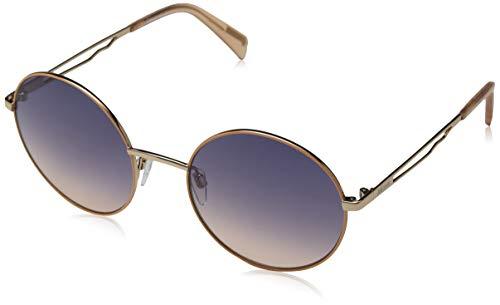 Just Cavalli Damen JC840S Sonnenbrille, Shiny Pink/Gradient Blue, 54