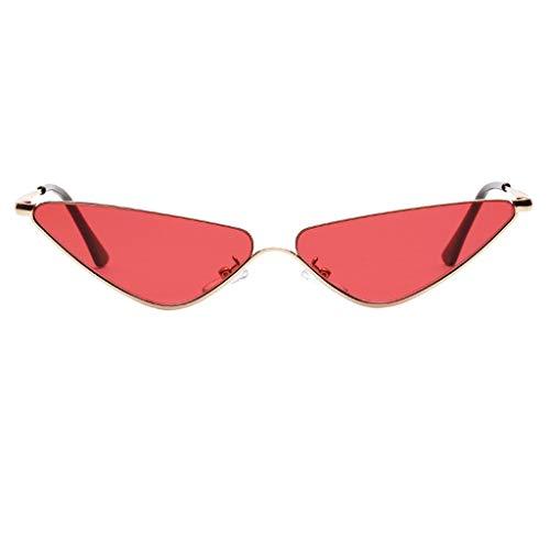 WQIANGHZI Sonnenbrille Herzförmige Metallrahmen Polarisiert Retro Brille Doppel Pfirsich Herz Metall Sonnenbrille Damen Shopping Gläser Männer und Frauen im Steampunk Stil (C)