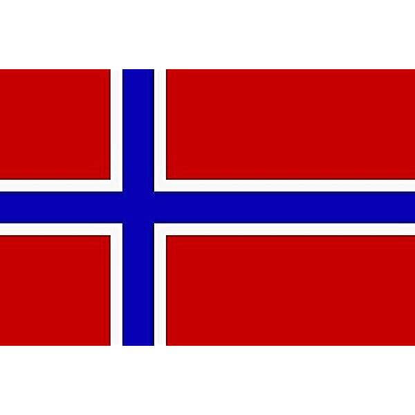 U24 Aufkleber Norwegen Flagge Fahne 8 X 5 Cm Autoaufkleber Sticker Auto