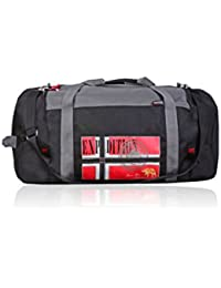 Geographical Norway Bolsa de viaje Flag Negro 38 cm