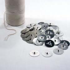 1 mètre Wedo ECO bougies Wick. 10 supports pour fabrication de haute qualité - 14