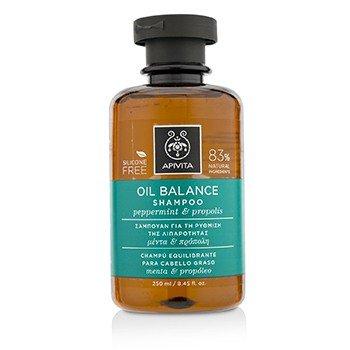 Moisture Light Shampoo (Apivita Oil Balance Shampoo with Peppermint & Propolis 250ml)