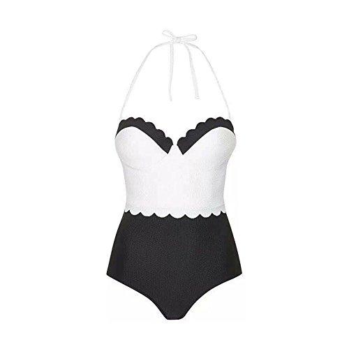 ... D9Q Frauen Sommer reizvolle Badeanzug Monokini Bademode Push Up Bikini  Gepolsterte Mehrfarbig