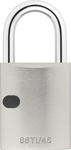 ABUS Titalium-Vorhangschloss 86TI/45 ohne Zylinder 27778 - Doppelte Tür-gelee